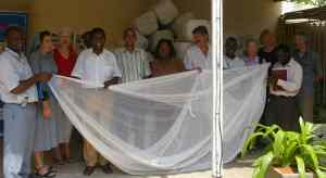 Angola Mosquito Net Project volunteers